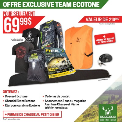 Offre exclusive TEAM ECOTONE
