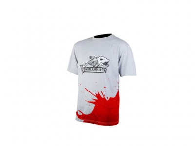 T-shirt Ecotone splash rouge